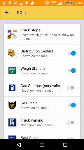 SmartTruckRoute2 Truck GPS Navigation  Live Routes 4.0.20201104_418 screenshots 2