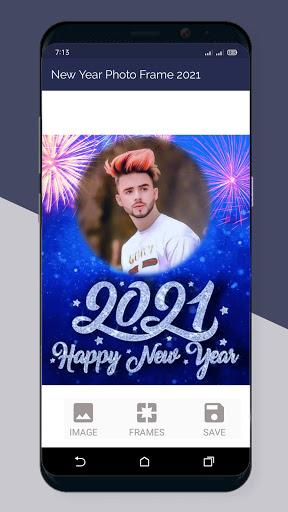 Happy New Year Photo Frame 2021  Screenshots 2