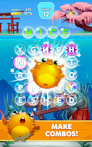 Bubble Words - Word Games Puzzle  screenshots 10