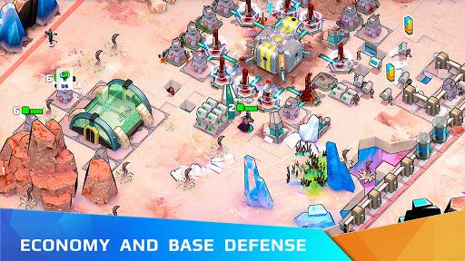 Warsmiths:u00a0army survival saga on a rebel planet 1.0 screenshots 3