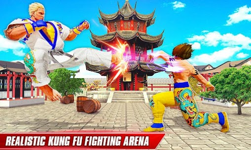 Kung Fu Fight Arena: Karate King Fighting Games MOD (Unlimited Gold) 3