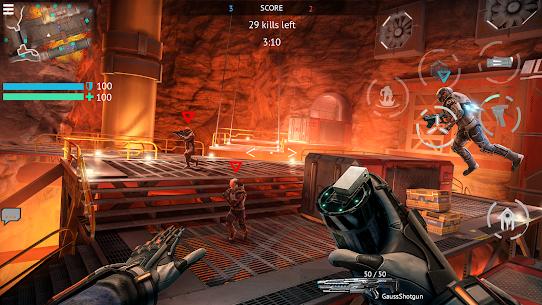 Infinity Ops Mod Apk: Online FPS Cyberpunk Shooter 4