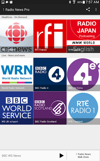 1 Radio News Pro For PC Windows (7, 8, 10, 10X) & Mac Computer Image Number- 16