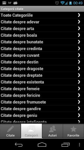 Citate Celebre screenshots 3