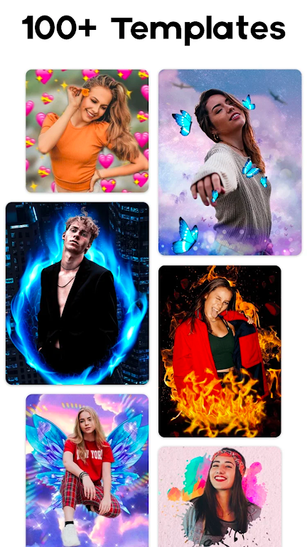 Neon Photo Editor - Photo Filters, Collage Maker  poster 1