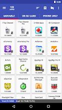AppMgr III (App 2 SD, Hide and Freeze apps) screenshot thumbnail