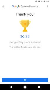 Google Opinion Rewards لشحن الألعاب ببجي , فري فاير مجانا 4