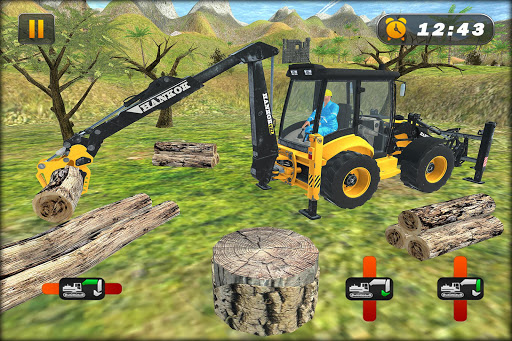 Heavy Excavator Crane Simulator Construction Games apkdebit screenshots 4