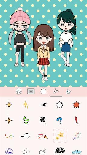 My Webtoon Character Girls - K-pop IDOL Maker  screenshots 8