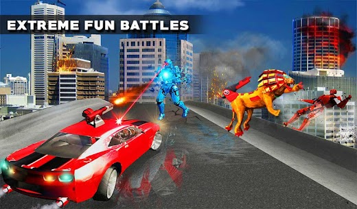 Ultimate Lion Robot Car For Pc (Windows 7, 8, 10 & Mac) – Free Download 2