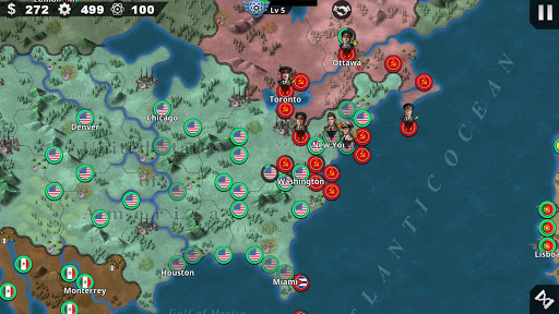 World Conqueror 4 - WW2 Strategy game 1.2.52 screenshots 3