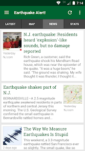 Earthquake Alert! 3.0.4 Screenshots 3