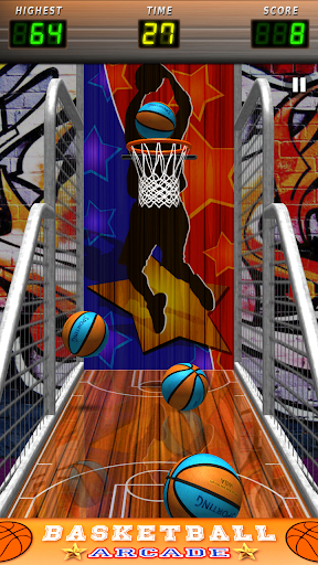 basketball arcade stars screenshot 1