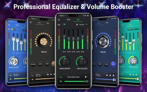 Equalizer & Bass Booster - Music Volume EQ 1.6.3 screenshots 1