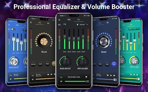 Equalizer & Bass Booster - Music Volume EQ Screenshot