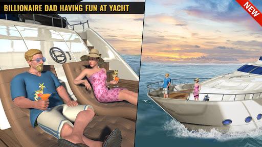 Billionaire Dad Luxury Life Virtual Family Games  screenshots 6