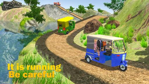 Chingchi Game Simulator : Crazy Tuk Tuk Rickshaw apktreat screenshots 1