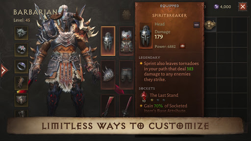 Diablo Immortal Varies with device screenshots 14