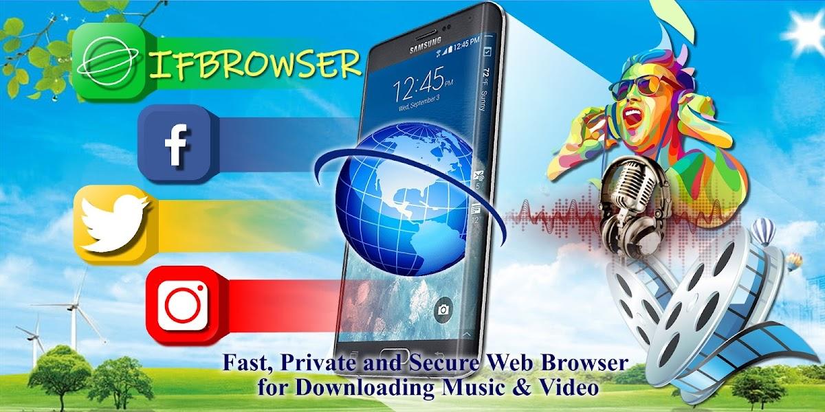 Ifbrowser -  Downloader for Social Networks