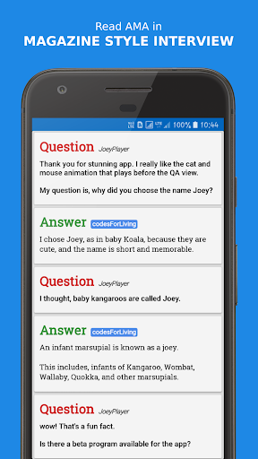 Joey for Reddit screenshots 1