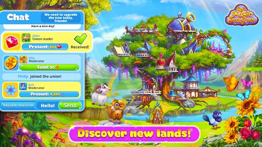 Magic Seasons - build and craft game  screenshots 6