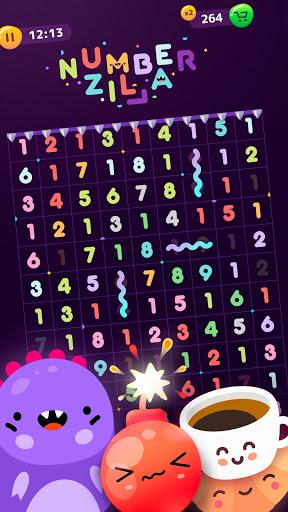 Numberzilla - Puzzle de Nombres | Number Game APK MOD – Pièces Illimitées (Astuce) screenshots hack proof 1