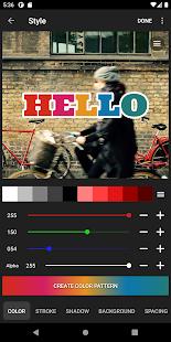 Phonto - Text on Photos 1.7.88 Screenshots 6