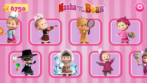 Masha and the Bear. Games & Activities screenshots 9