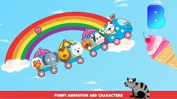 Train - educational game for children, kids & baby