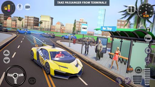 Superhero Taxi Car Driving Simulator - Taxi Games 1.0.2 Screenshots 3