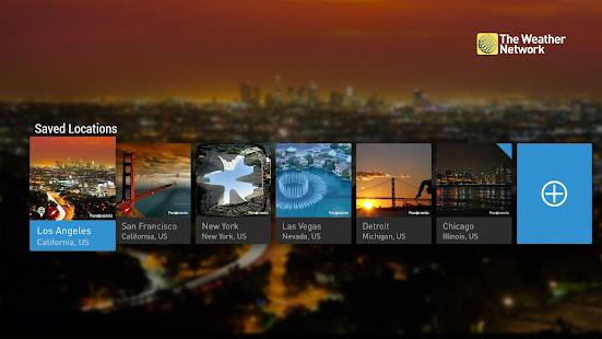 The Weather Network TV App screenshots 2
