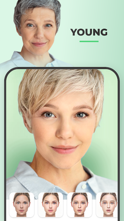 FaceApp - Face Editor, Makeover & Beauty App  poster 2