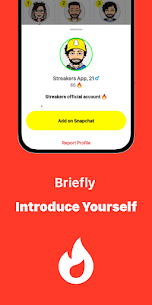 Streakers – New friends on Snapchat Apk Download NEW 2021 3