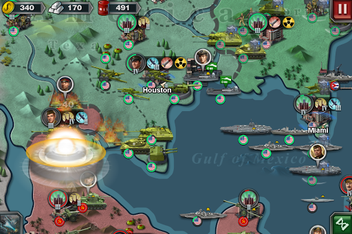 World Conqueror 3  - WW2  Strategy game  screenshots 5
