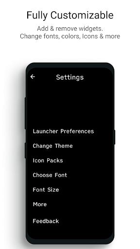 Indistractable Launcher - The Minimalist Launcher 1.16-beta6 Screenshots 5