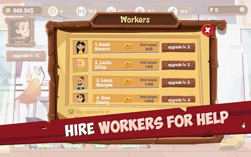 Bitcoin Mining Simulator - Idle Clicker Tycoon 3.5.8 screenshots 2