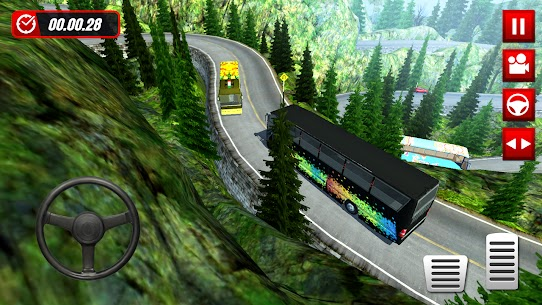 Hill Station Bus Driving Game [MOD Version] 5