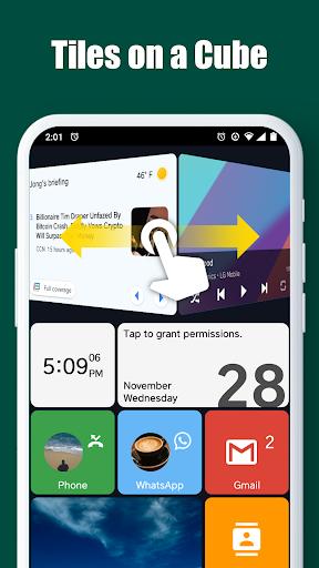 Square Home - Launcher : Windows style 2.1.14 Screenshots 4