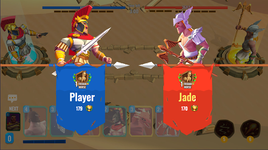 Trojan War 2: Clash Cards Game Mod Apk 1.1.1 (A Lot of Currency) 5