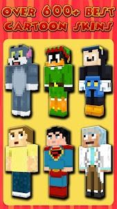 Cartoon Skins for Minecraft PE 3.4.1