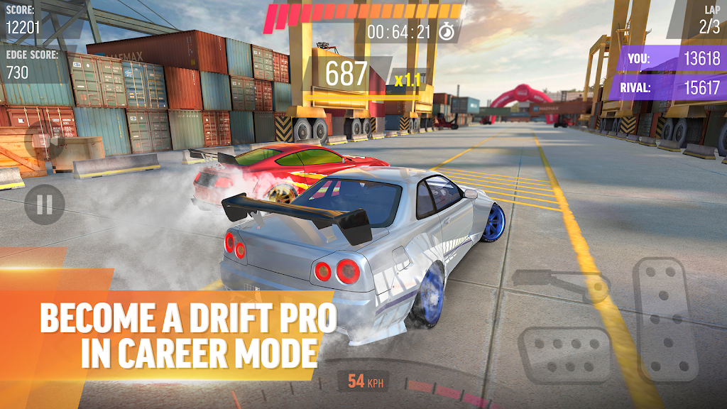 Drift Max Pro - Car Drifting Game with Racing Cars  poster 3