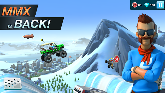 MMX Hill Dash 2 Mod Apk (Unlimited Money) 11.00.12075 1
