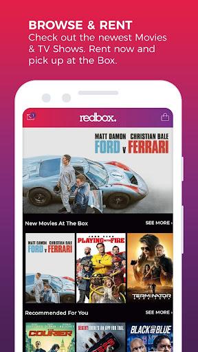 REDBOX: Rent, Stream, Buy New Movies, Free Live TV screenshots 1
