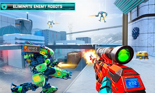 US Police Robot Counter Terrorist Shooting Games  Screenshots 1