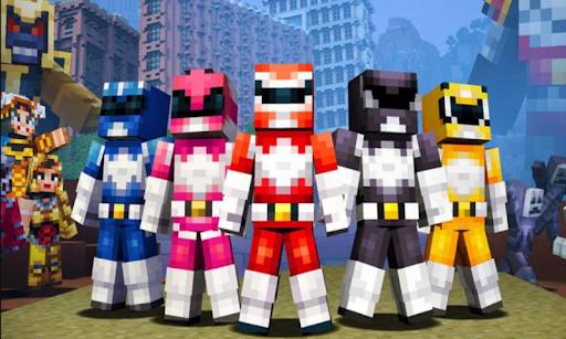 Addon Power Rangers for Minecraft PE hack tool