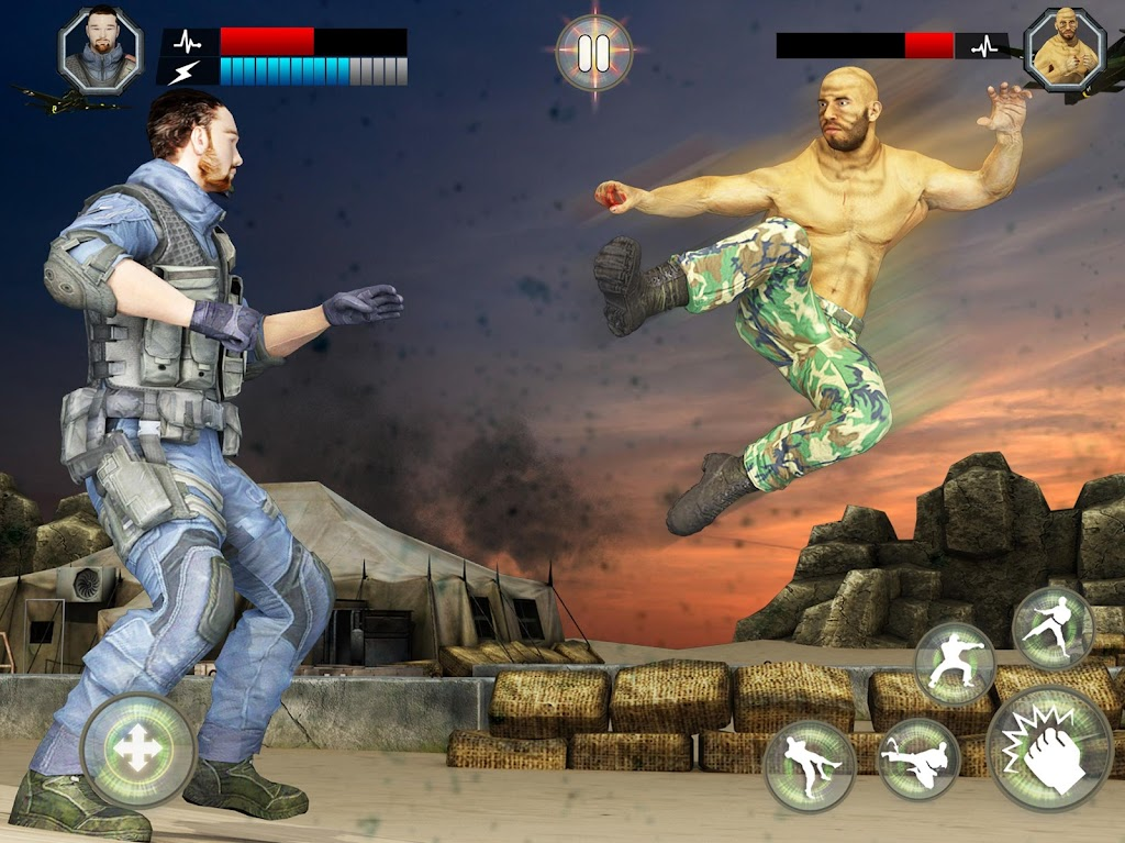 US Army Fighting Games: Kung Fu Karate Battlefield  poster 9
