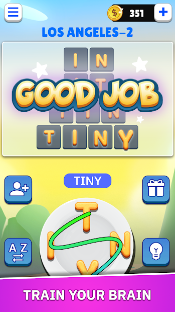 Word Land - Multiplayer Word Connect Puzzle Game screenshot 2