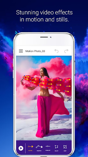 Photo Effect Animation Video Maker android2mod screenshots 1