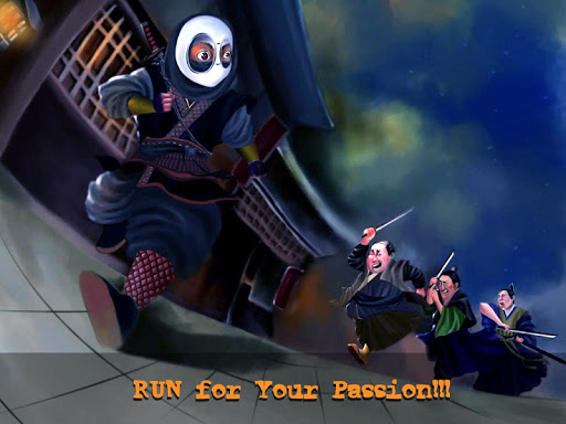 ninja escape - endless running screenshot 3