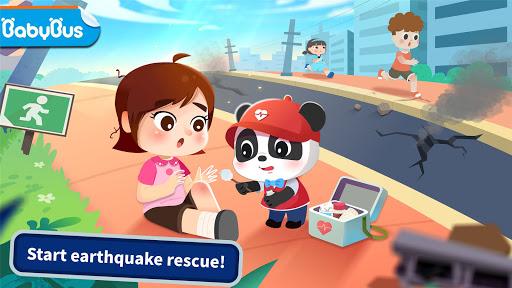Baby Panda: Earthquake Rescue 2 apkmartins screenshots 1